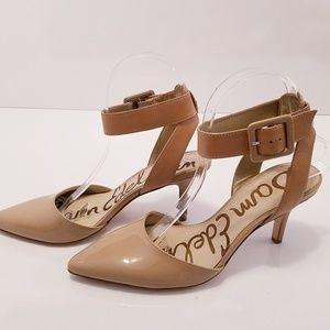 Sam Edelman Okala patent Leather Ankle-Wrap heel